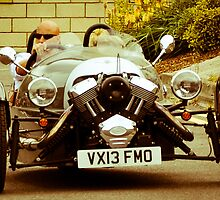 Furious on a 3 Wheeler Car by ozkanidis