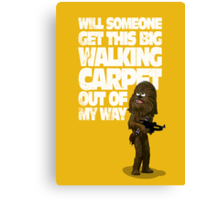 Big Walking Carpet (Star Wars) Canvas Print