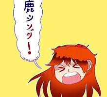 Stupid Shinji! by s33r