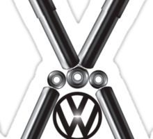 VW Logo T-Shirt & Hoodies Sticker