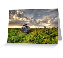 Rusty Wreck Greeting Card