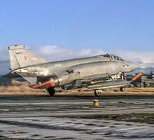 McDonnell Phantom FGR.2 XV426/Q take-off by Colin Smedley