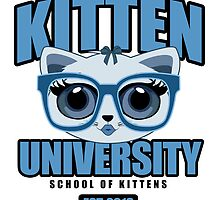 Kitten University - Blue by Adamzworld