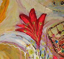 Original painting fragment 32 by Elena Kotliarker