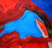 Arch Rock original painting by CrowRisingMedia