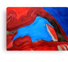 Arch Rock original painting Canvas Print