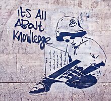 It's all about knowledge by Tim Constable