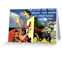 4D World View Greeting Card