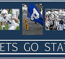Lets Go State by GalleryThree