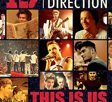 "One Direction ""This Is Us"" Movie Poster by lukehemmings"