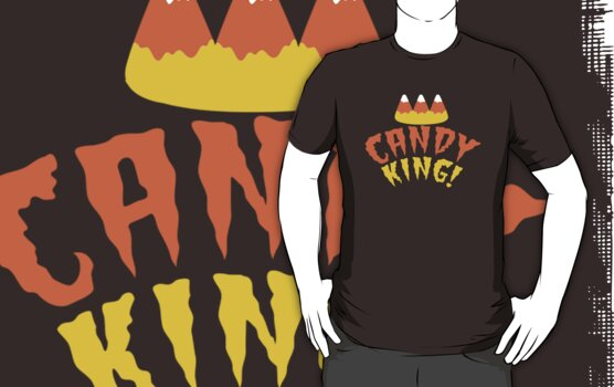 CANDY KING! Halloween crown with candy corn by jazzydevil
