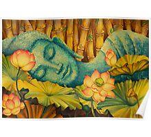 Reclining Buddha Poster