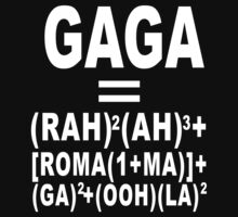Lady Gaga - Bad Romance Formula by monkeybrain