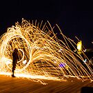 Lightpainting #4 by Peter Gray