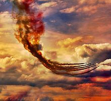 Flight Through The Inferno by Epicurian