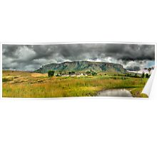 Colourful Community Panoramic Poster