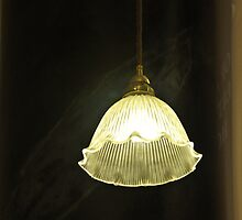 Fluted Lamp Shade by Karen E Camilleri