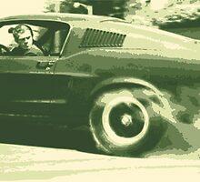 Steve McQueen from the film Bullitt by jeffbrowne
