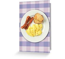 Ron Swanson's Breakfast Greeting Card
