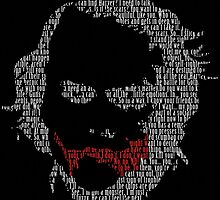 Ledger Dialogue Text Face digital by justin13art