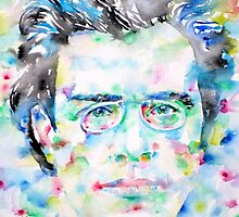 GUSTAV MAHLER - watercolor portrait by lautir
