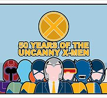 Uncanny X-Men 50th Anniversary - Full Cast by Ian Taylor