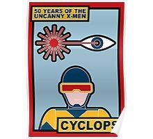 Uncanny X-Men 50th Anniversary - Cyclops Poster