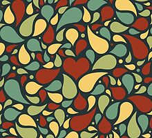 Heart pattern by jizzinmypants