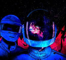 Daft Punk by jizzinmypants