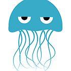 Light Blue Jellyfish by kwg2200