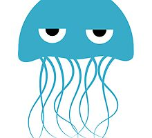 Light Blue Jellyfish by kwg2200