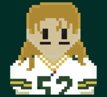 8Bit Clay Matthews NFL by CrissChords