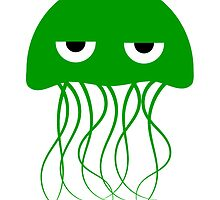 Green Jellyfish by kwg2200