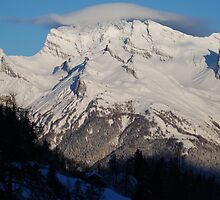 Mountain Yarmulke by justbmac