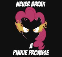 Never Break A Pinkie Promise (WHITE TEXT) by Irvin Pagan