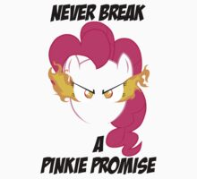Never Break A Pinkie Promise (BLACK TEXT) by Irvin Pagan