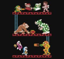 8 Bit Smash Bros. by rzrsk8
