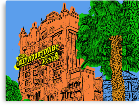 Tower of Terror Disney World by TRStrickland