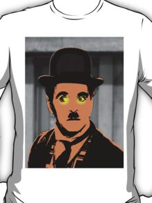 Charles Chaplin Charlot in The Great Dictator T-Shirt