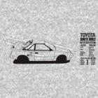 Toyota AW11 MR2 - AERO - TEE (W/ White Arrows) by Lindsay Thebus