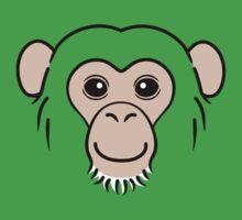 Chimpanzee Face Kids Clothes