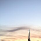 the eiffel tower and the cloud by Peter75
