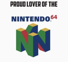 Nintendo Sixty-Four Shirt by Nintendo64