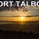 Port Talbot Postcard - Baglan Bay Sunset by digihill