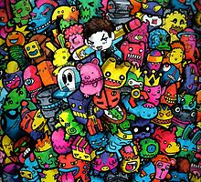 Doodle Monsters (iPhone & iPod) by Lei Melendres