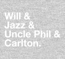 Will & Jazz & Uncle Phil & Carlton by David Halford