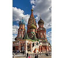 St. Basil's Russian Orthodox Cathedral Photographic Print