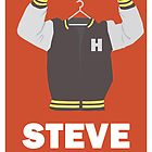 Arrested Development, Steve Holt Illustration by hacketjoe