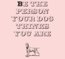 Be the Person - Bull Terrier Kids Clothes
