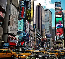 Times Square New York by pixog